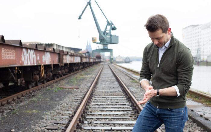 Simon Bujanowski, Deutzer Hafen
